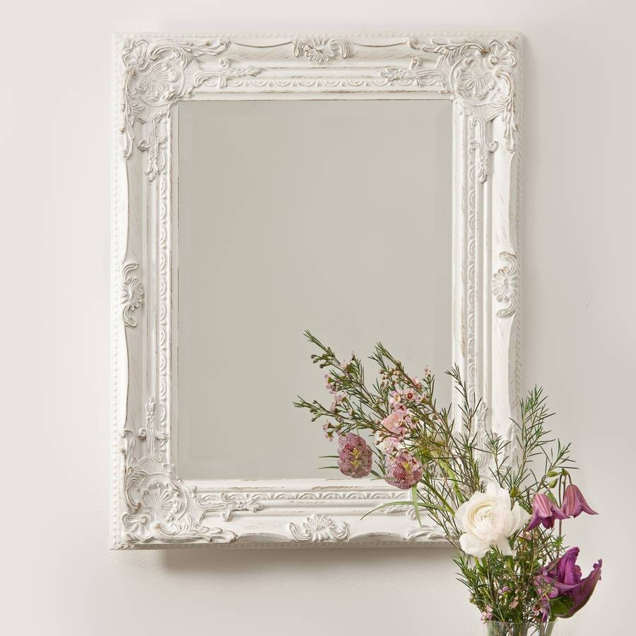 Silver Pewter Mirrorhand Crafted Mirrors | Notonthehighstreet Within Pewter Ornate Mirrors (View 15 of 15)