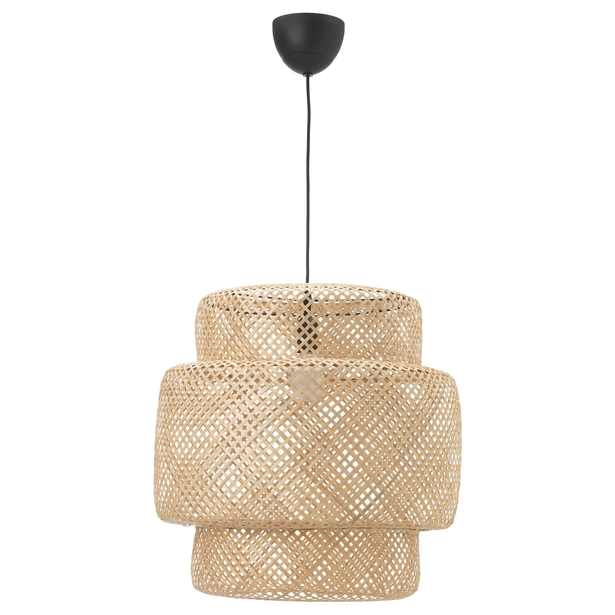 Sinnerlig Pendant Lamp - Bamboo, - - Ikea with regard to Ikea Pendant Lights (Image 14 of 15)