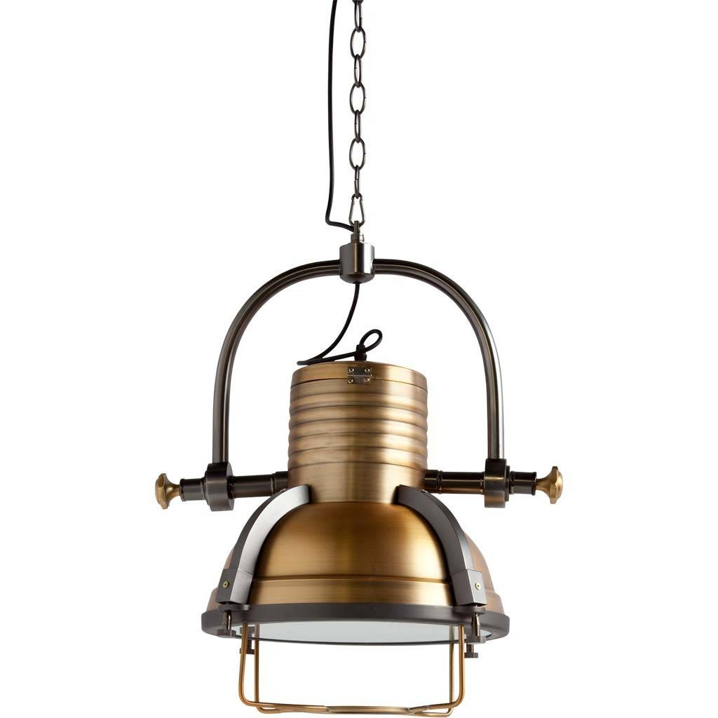 Sita Vintage Industrial Pendant Lamp In Brass Modernist Lighting intended for Industrial Pendant Lights (Image 14 of 15)