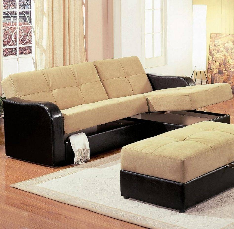 Small Sectional Sofa With Storage Hereoiving Room Sleeper Pertaining To Small Sectional Sofas With Storage (View 11 of 15)