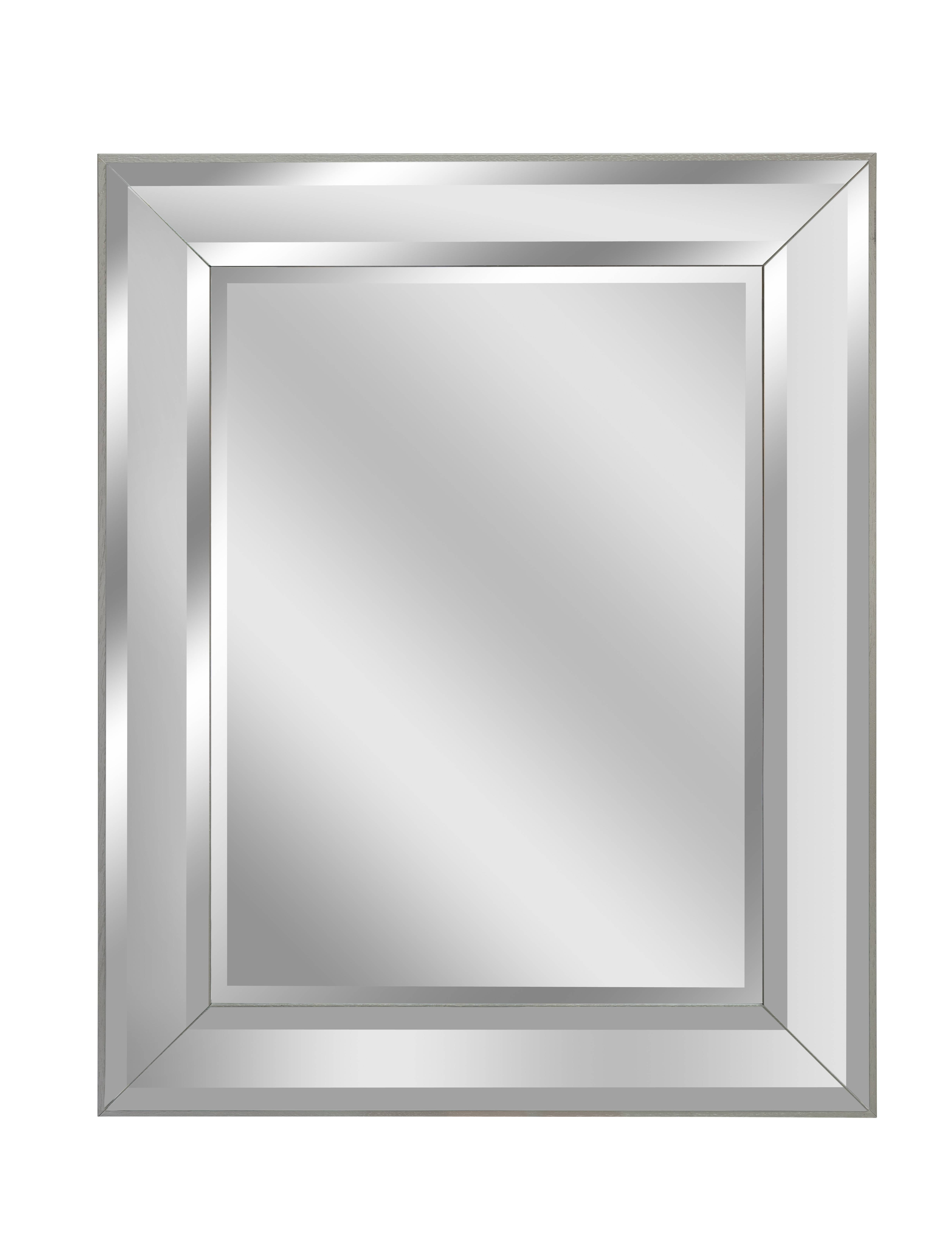 Small Silver Mod Mirror | Bedroom Mirrors For Sale - Panfili with Small Mirrors (Image 13 of 15)
