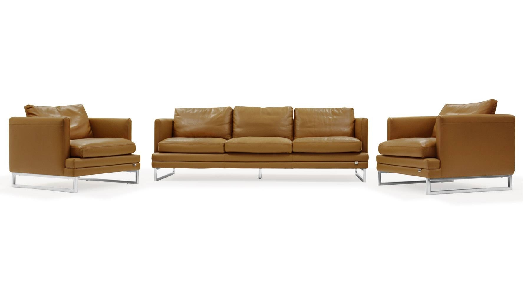 Sofa Modern Sofas And Chairs Leather Chair Sets | Tamingthesat for Contemporary Sofas and Chairs (Image 14 of 15)