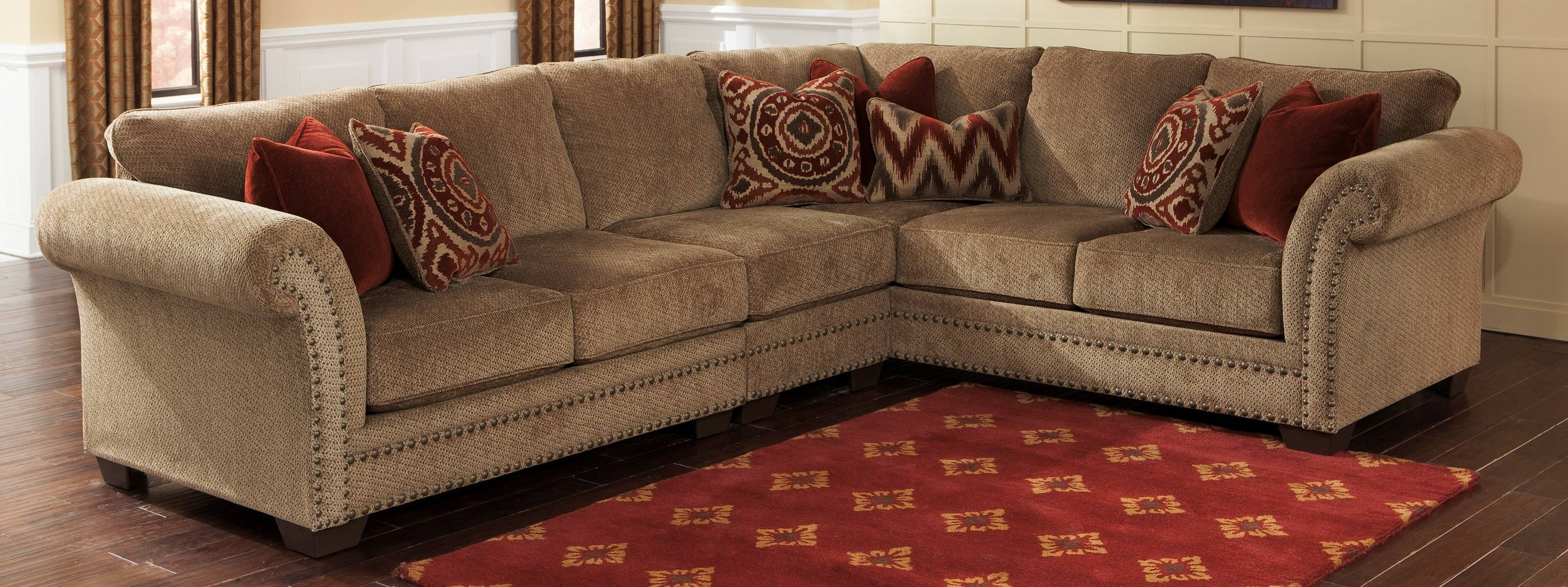 Sofas Center : Cool Ashleyture Sectional Sofas Design With Brown within Ashley Furniture Brown Corduroy Sectional Sofas (Image 15 of 15)