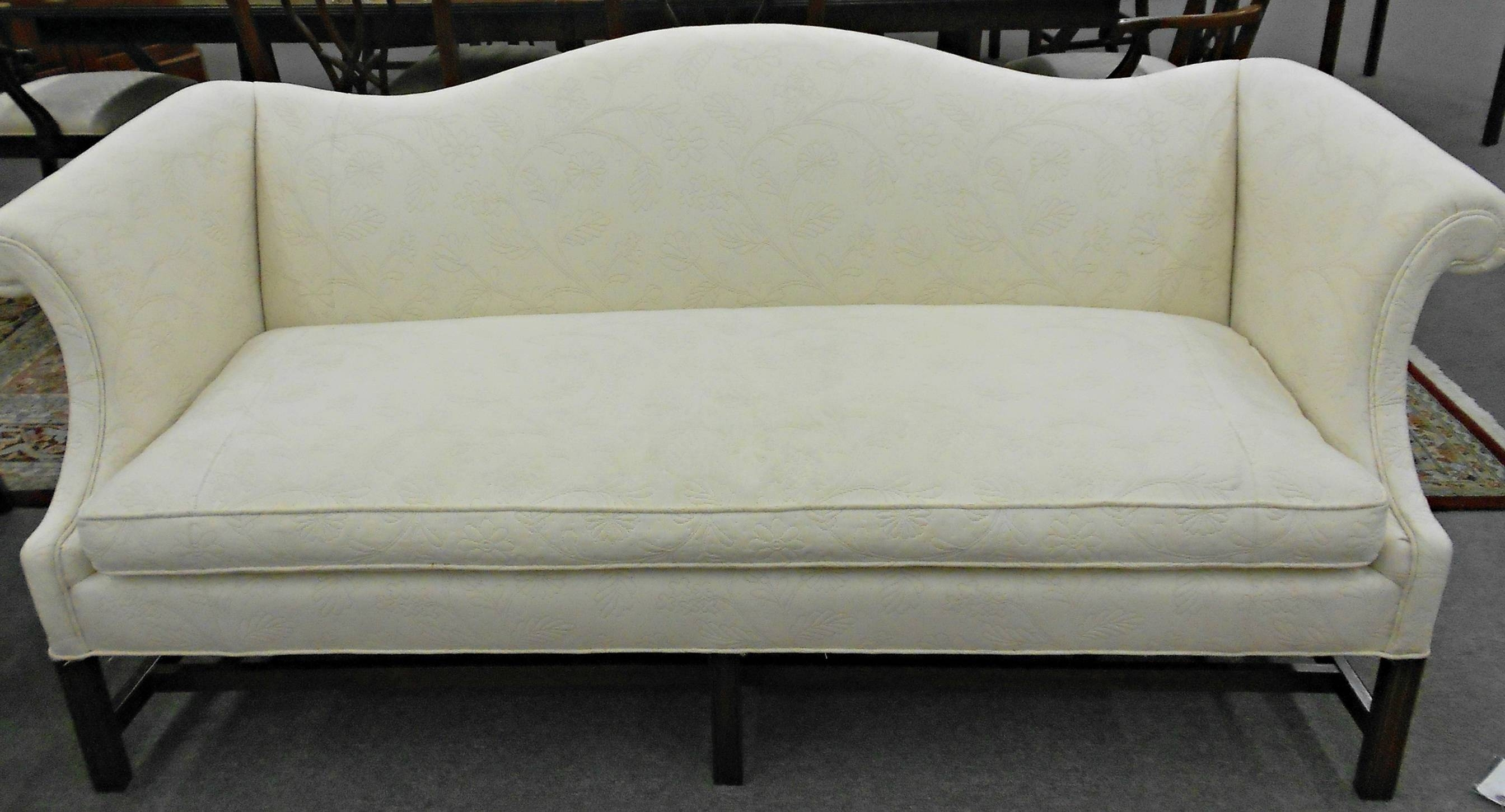 Sofas Center : Sofa White Camel Back Couch Beautiful Slipcover For inside Camelback Sofa Slipcovers (Image 14 of 15)