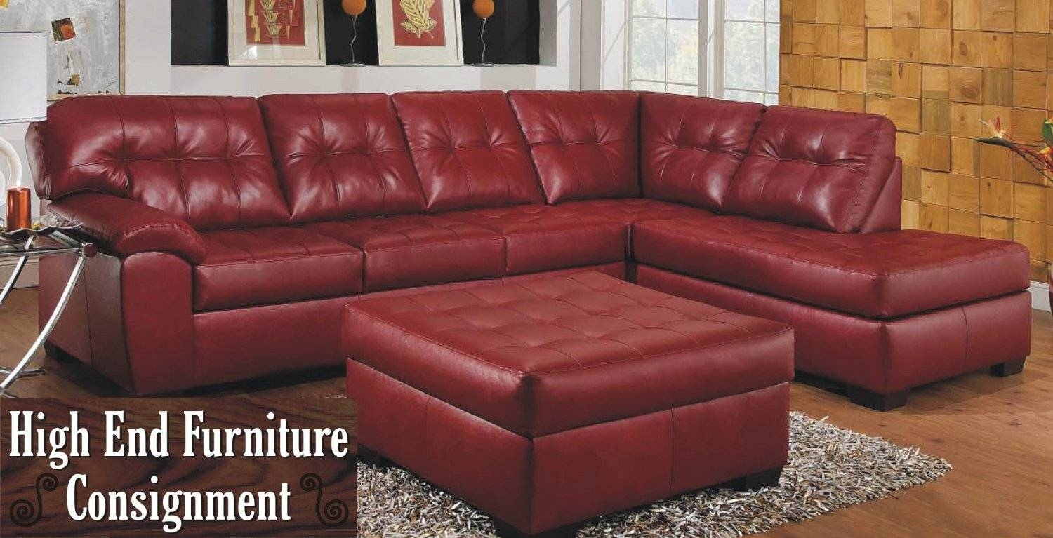 Sofas Luxury Your Living Room Design With Red Sectional Inside Dark Leather Couches