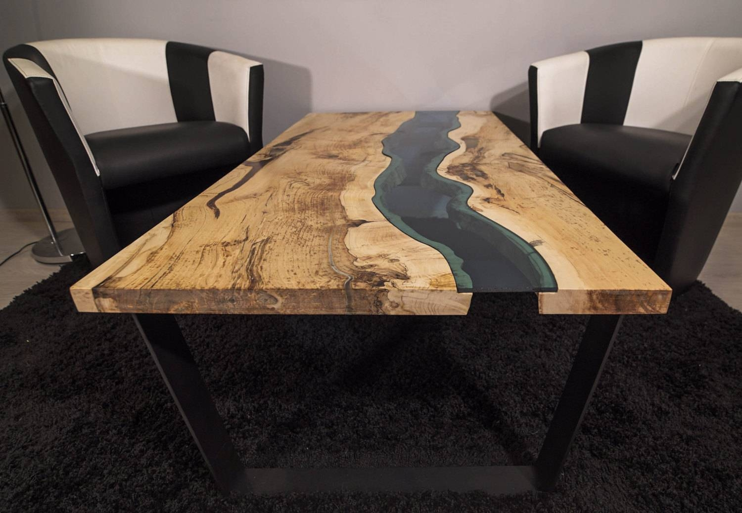 Sold Live Edge River Coffee Table Sold within Live Edge Coffee Tables (Image 15 of 15)