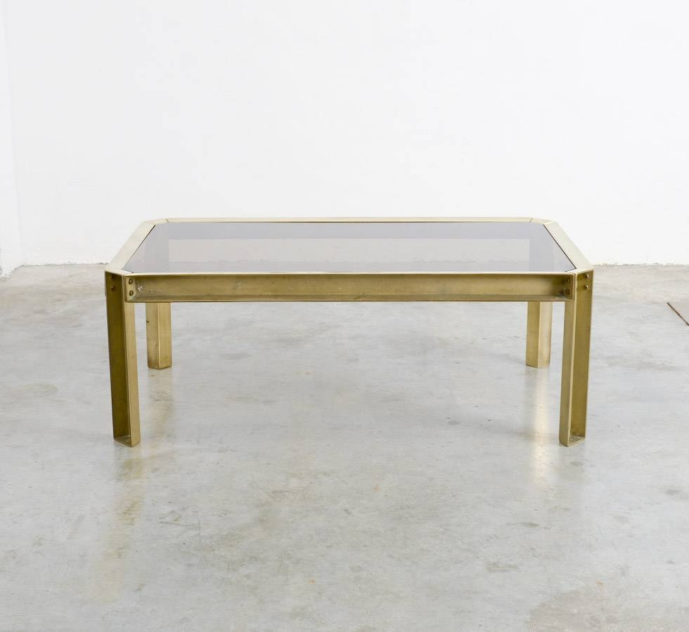 Featured Photo of Solid Glass Coffee Table