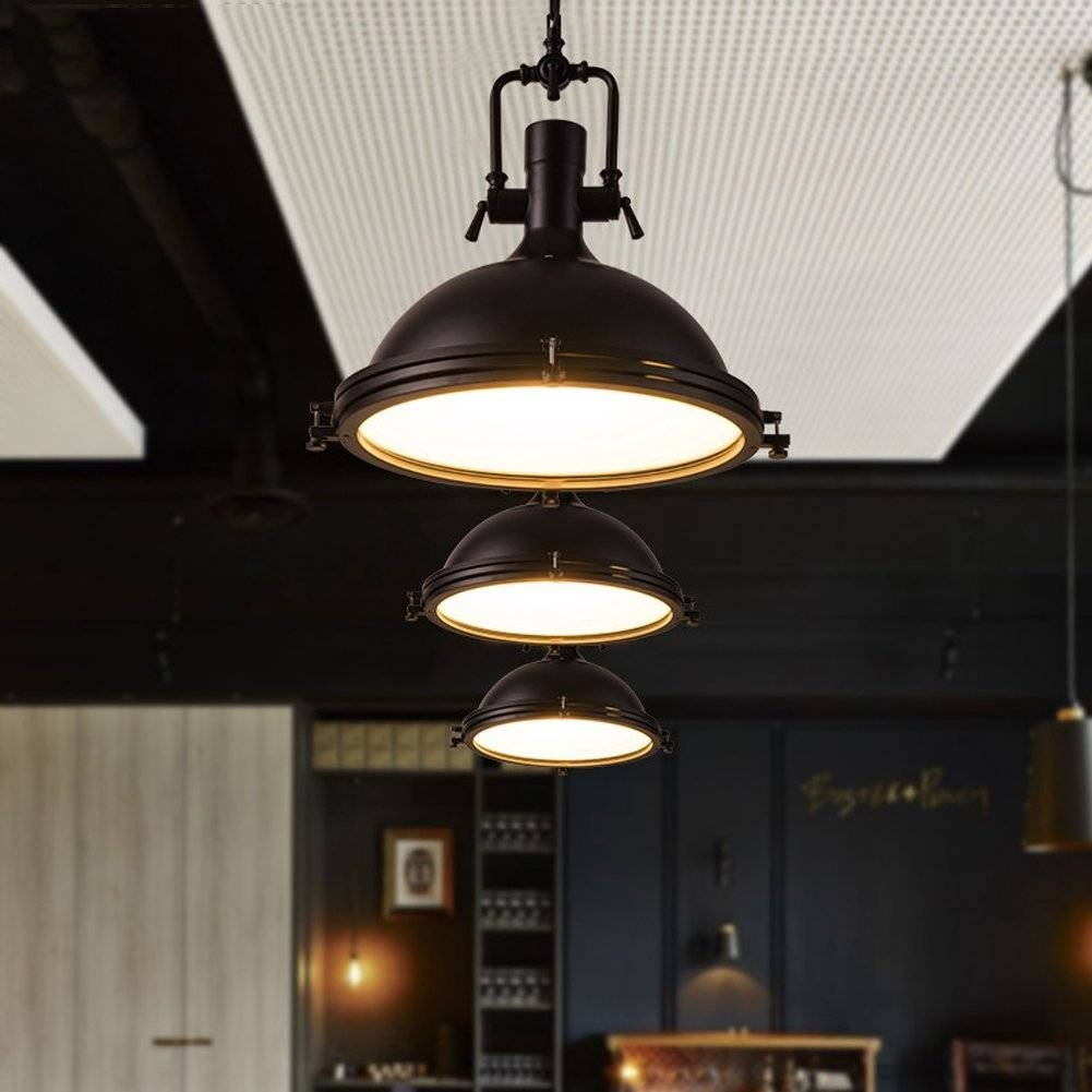Some Style Industrial Pendant Lighting | Lighting Designs Ideas pertaining to Industrial Style Pendant Lights Fixtures (Image 14 of 15)