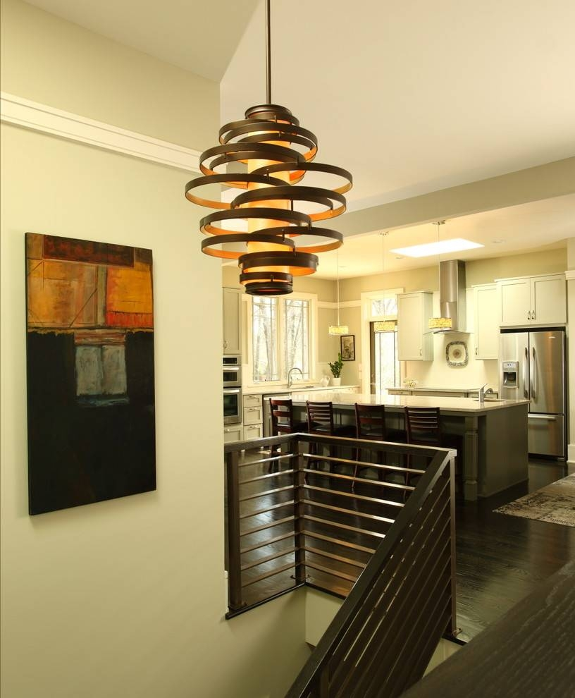 Spectacular Modern Pendant Lighting Fixtures - Suitable Focal in Hall Pendant Lights (Image 12 of 15)