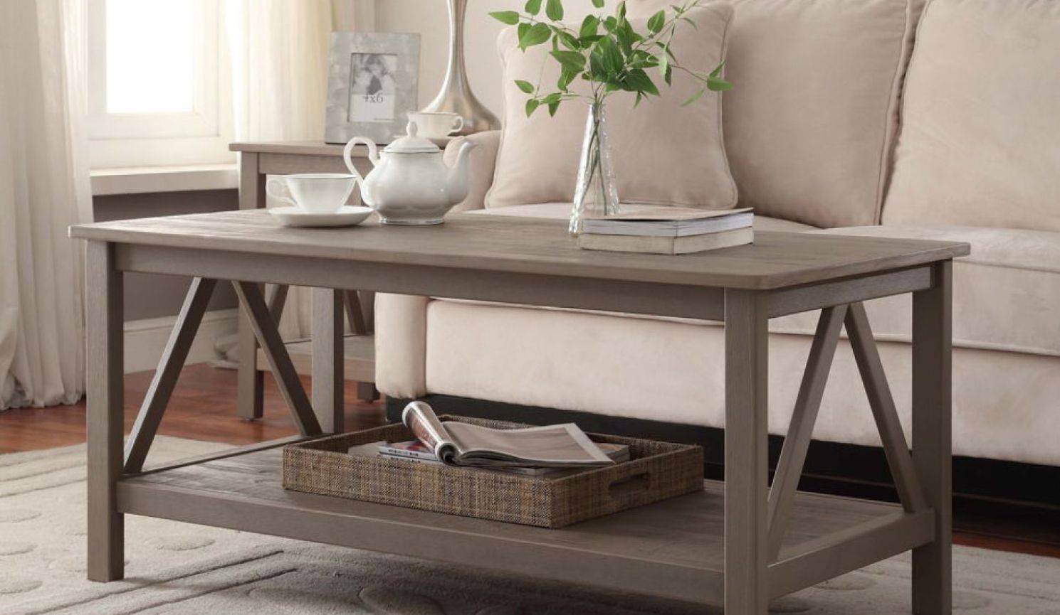 Splendid Wood Coffee Table Designs Tags : Wood Glass Coffee Table regarding Glass and Stone Coffee Table (Image 12 of 15)