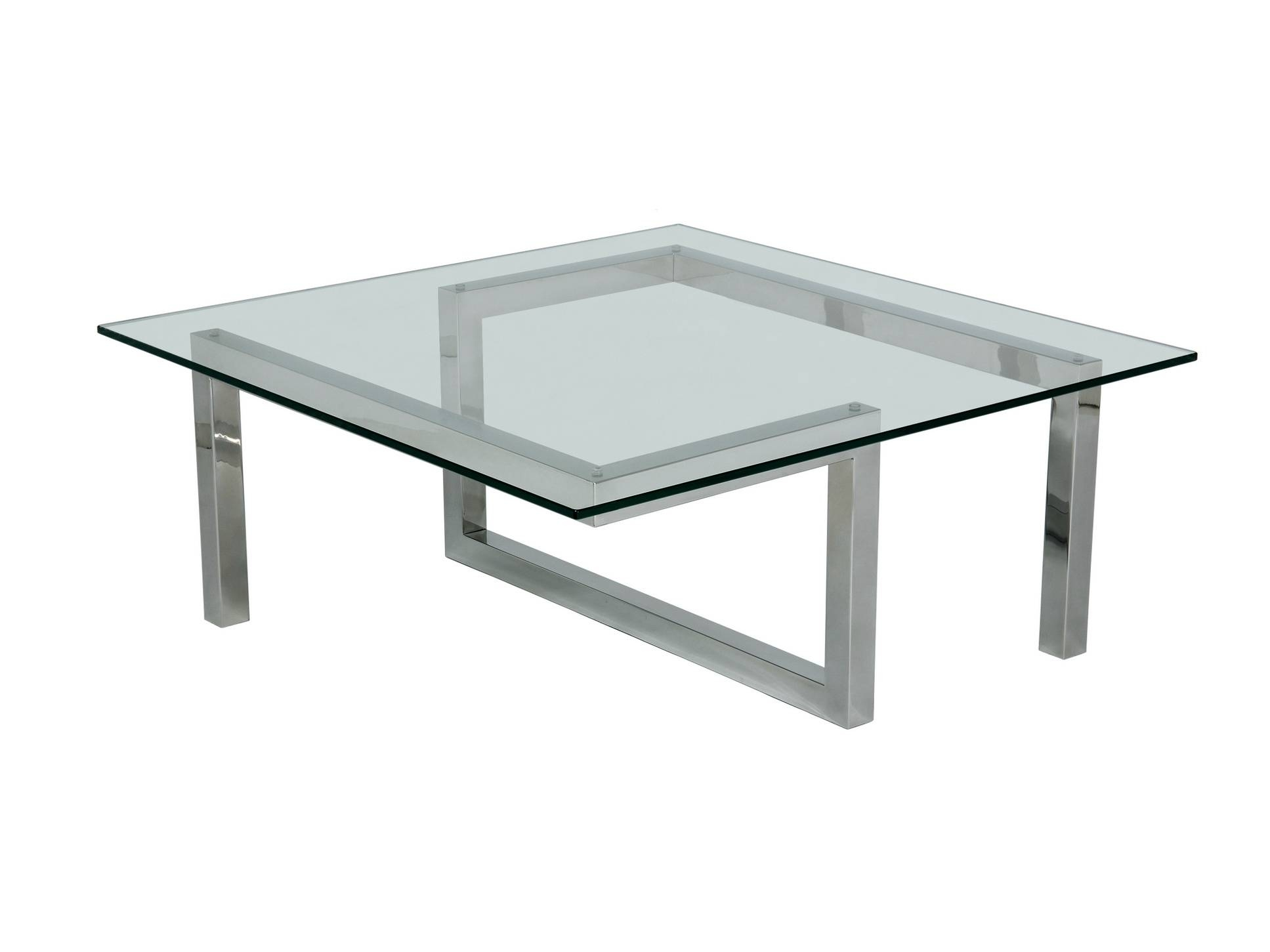 Square Glass Coffee Table For Living Room Decoration - Ruchi Designs intended for Square Glass Coffee Tables (Image 13 of 15)