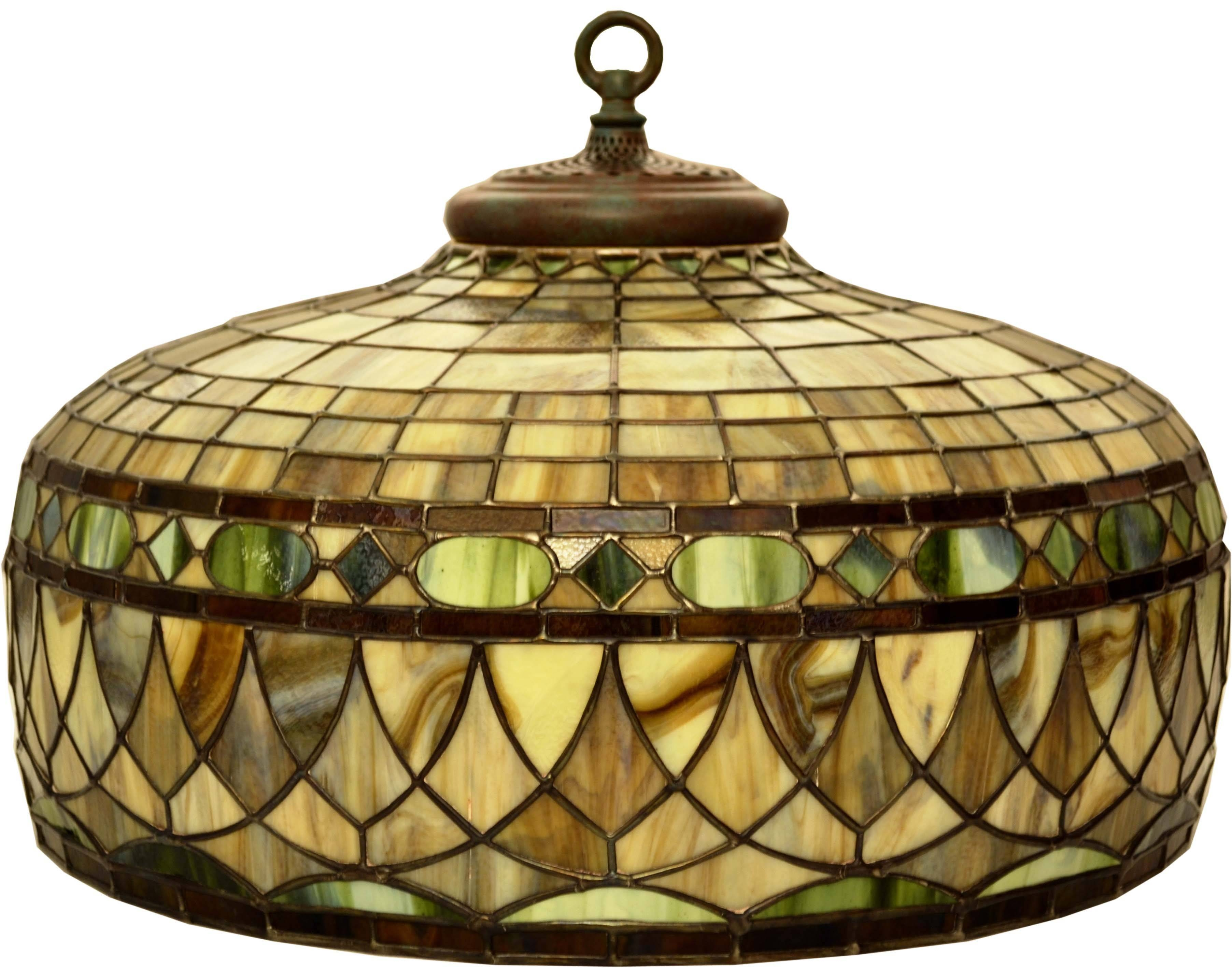 Stained Glass Lamp Shades Pictures – Home Furniture Ideas In Stained Glass Pendant Light Patterns (View 5 of 15)