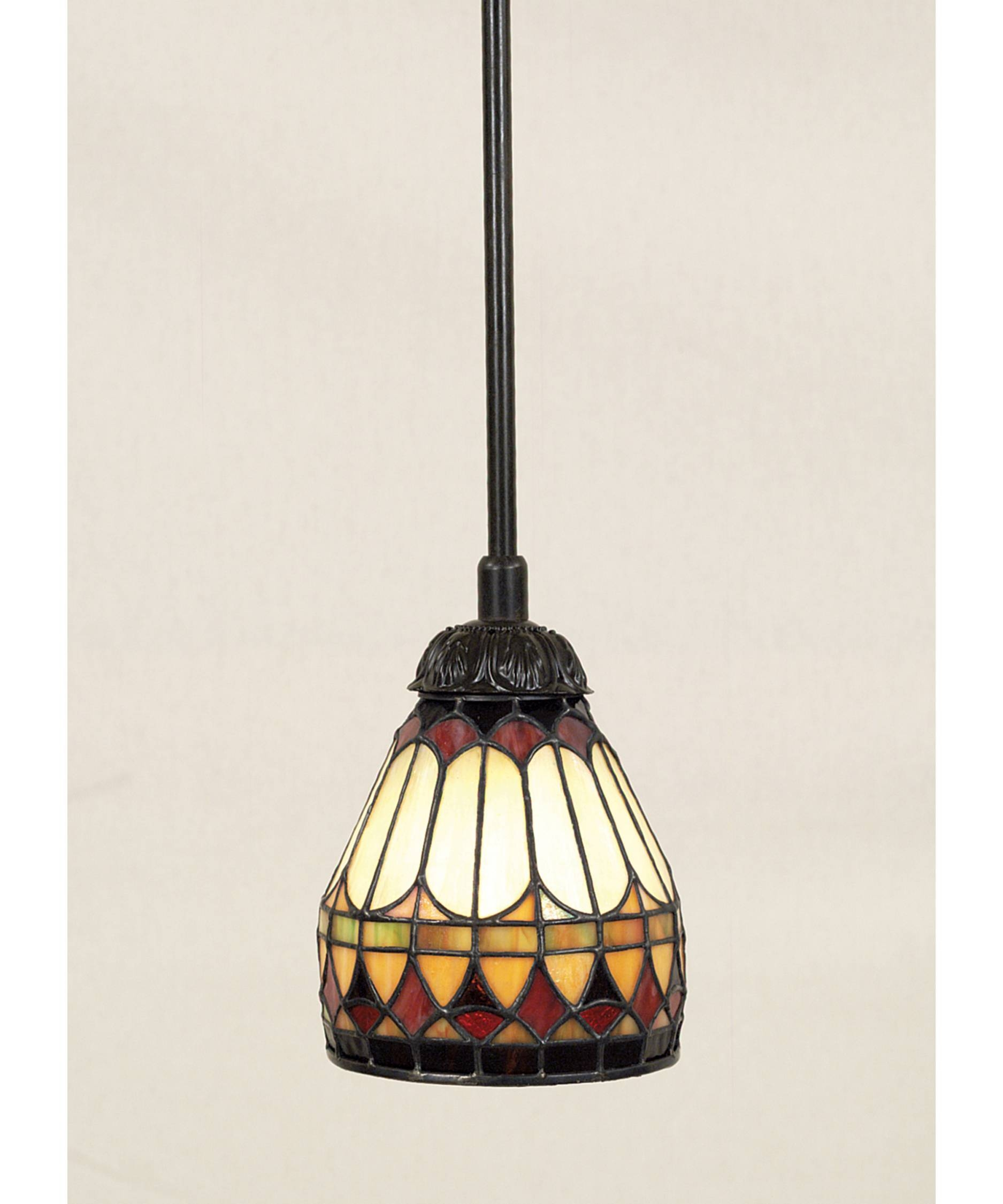 Stained Glass Pendant Light - Hbwonong in Stained Glass Lamps Pendant Lights (Image 8 of 15)