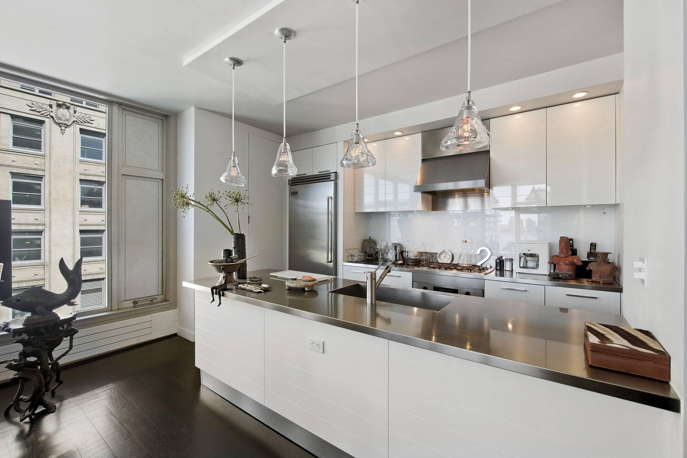 Stainless Steel Kitchen Pendant Light ~ Picgit throughout Stainless Steel Kitchen Pendant Lights (Image 13 of 15)