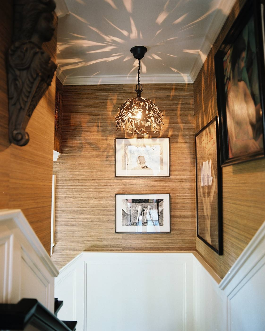 Stairwell Pendant Light Photos, Design, Ideas, Remodel, And Decor inside Pendant Lights for Stairwell (Image 11 of 15)