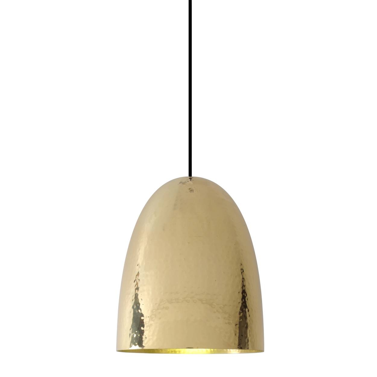 Stanley 3 Brass Pendant - Hammered Finish | Original Btc | Horne with regard to Hammered Pendant Lights (Image 12 of 15)