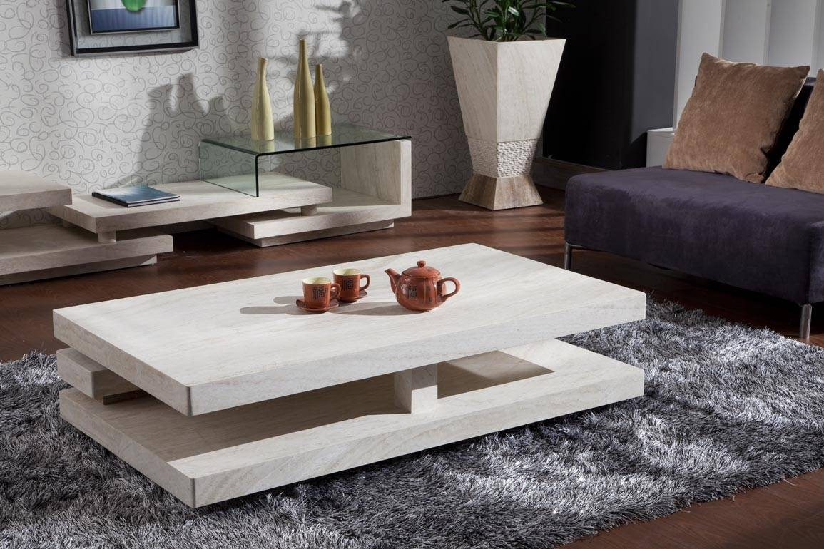 Stone Coffee Table : Trends Stone Coffee Table – Home Designjohn with regard to Stone Coffee Table (Image 13 of 15)