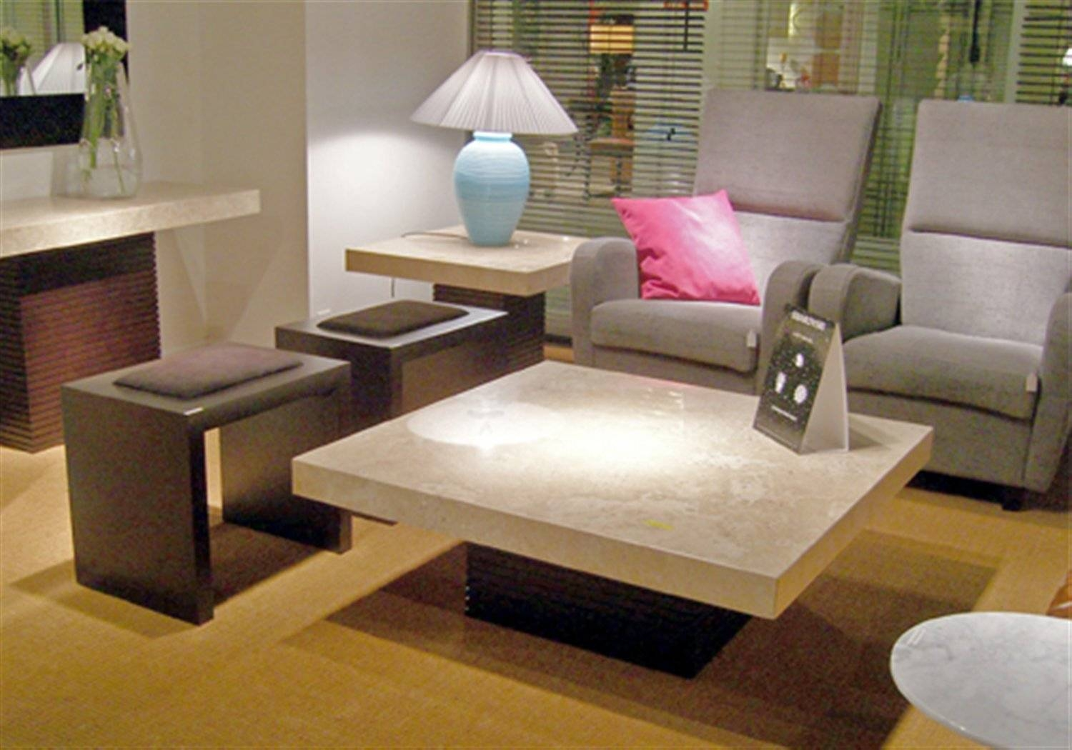 Stone Coffee Table : Trends Stone Coffee Table – Home Designjohn within Stone Coffee Table (Image 14 of 15)