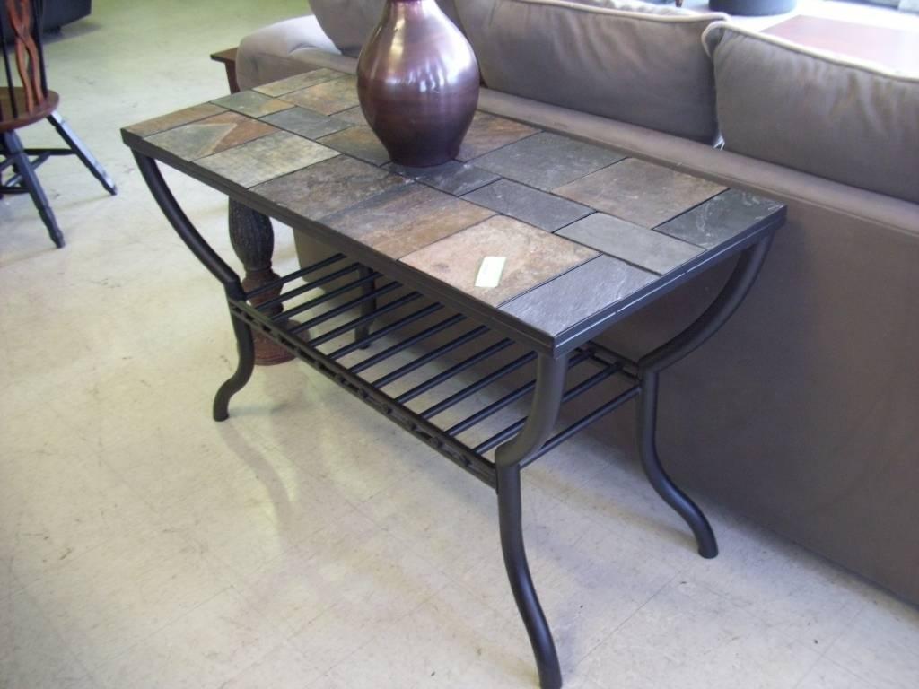 Stone Top Sofa Table - Bible-Saitama for Slate Sofa Tables (Image 15 of 15)