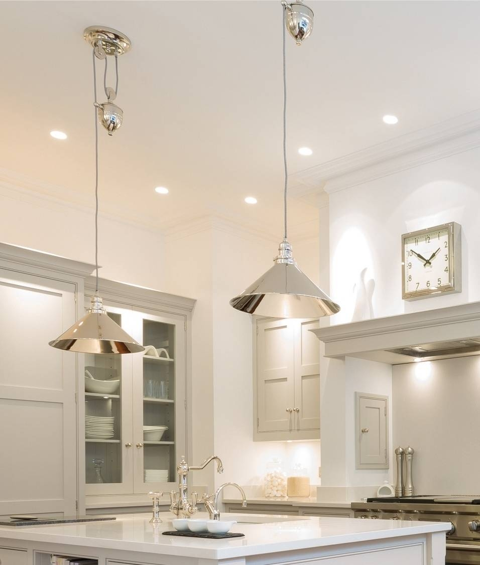 Stunning French Style Pendant With Rise And Fall Mechanism With Rise And Fall Pendants (Photo 7 of 15)