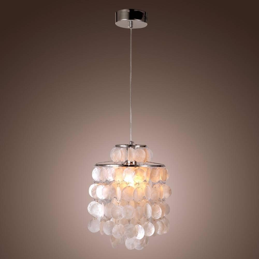 Stunning Shell Pendant Light For Interior Decor Concept Capiz in Shell Light Shades Pendants (Image 12 of 15)