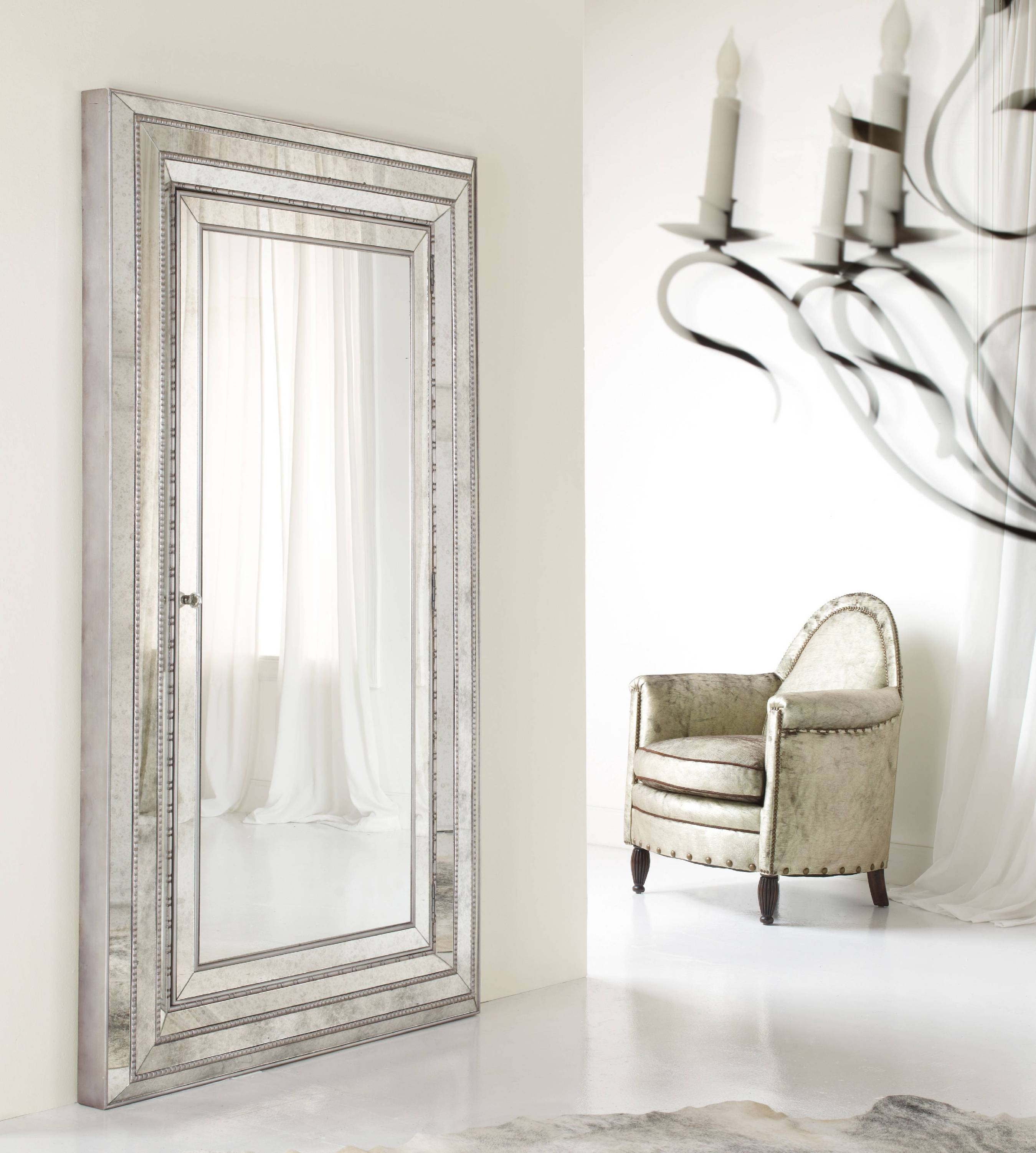 Stupendous Full Length Mirror Jewelry Cabinet White 76 Full Length regarding Silver Full Length Mirrors (Image 13 of 15)