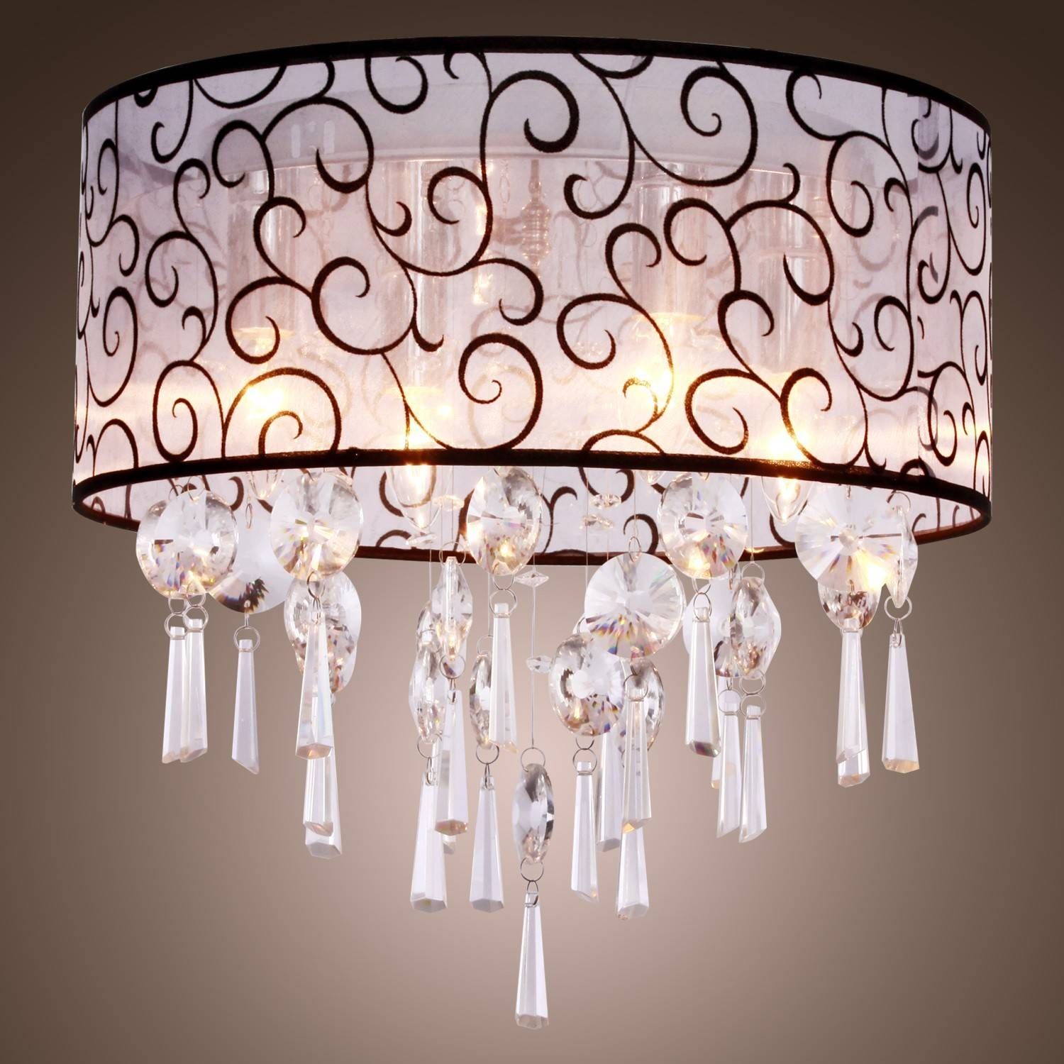 Stylish Chandelier With Matching Pendant Lights Chandelier with regard to Matching Pendant Lights And Chandeliers (Image 13 of 15)
