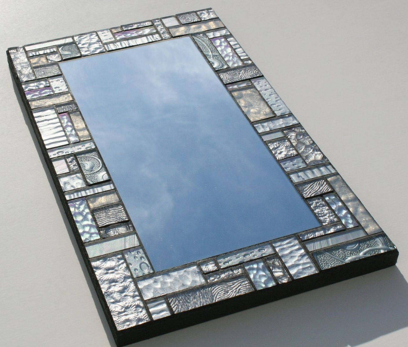 Stylish Mosaic Wall Mirror – House Photos With Regard To Large Mosaic Mirrors (View 14 of 15)