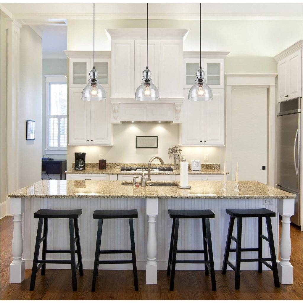 Stylish Over Kitchen Island Lighting About House Design In Kitchen Island Single Pendant Lighting (View 2 of 15)