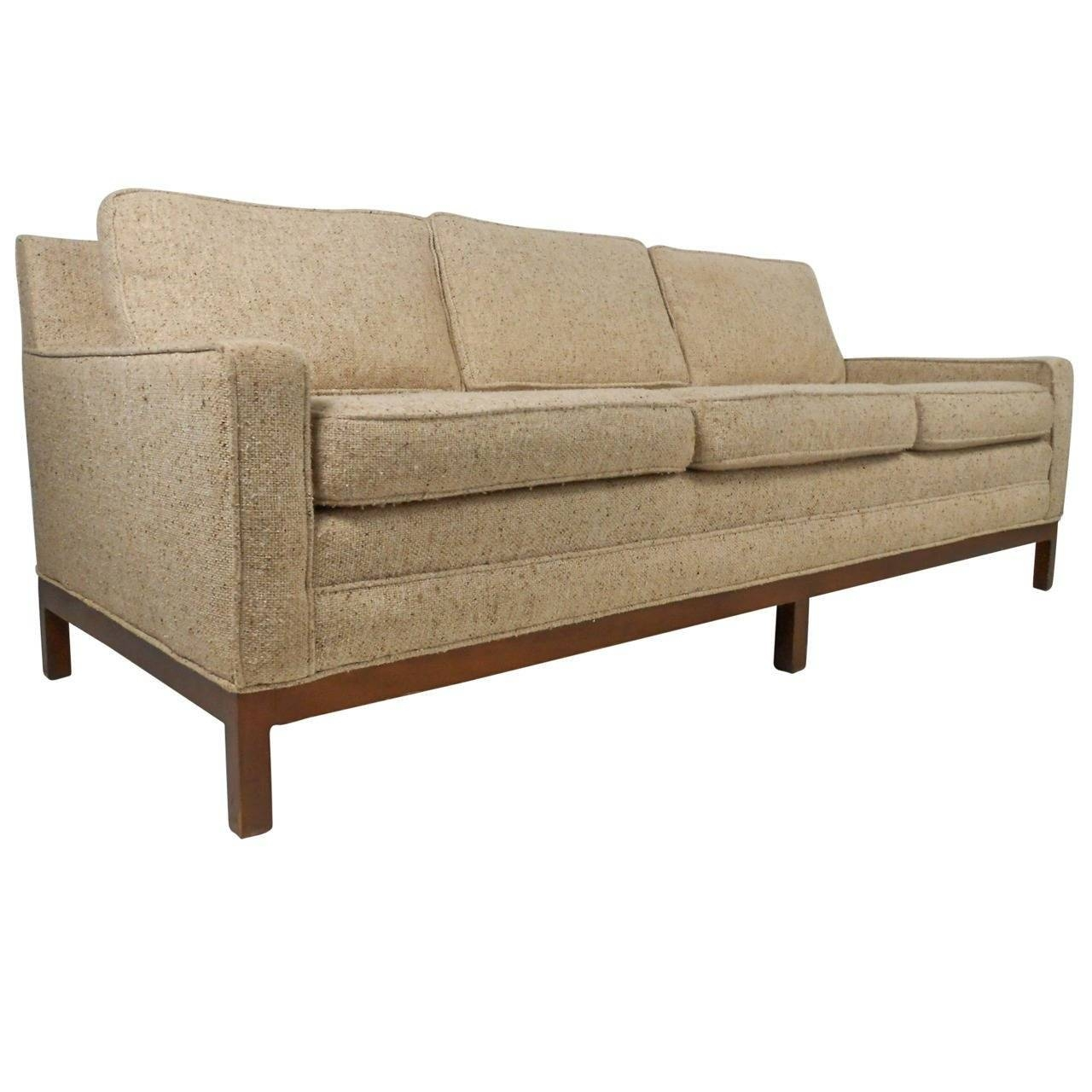 Stylish Vintage Modern Sofa After Florence Knoll For Sale At 1Stdibs In Knoll Sofas (View 8 of 15)