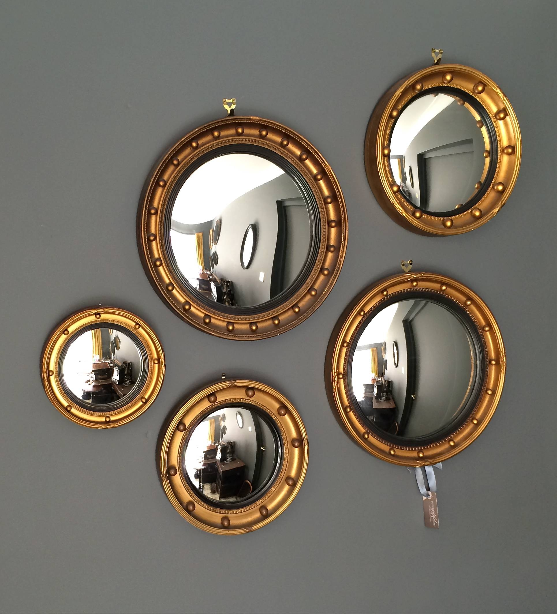Summer Styling The Decorative Antique Way At Bowden Knight pertaining to Convex Decorative Mirrors (Image 14 of 15)