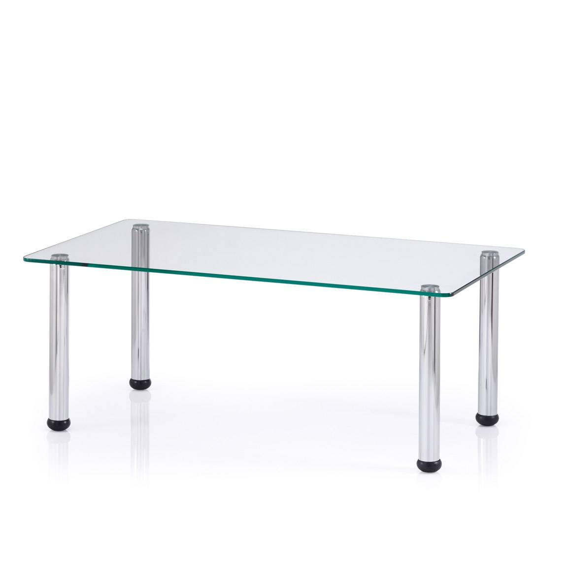 Swift - Glass Coffee Table inside Rectangle Glass Coffee Table (Image 15 of 15)