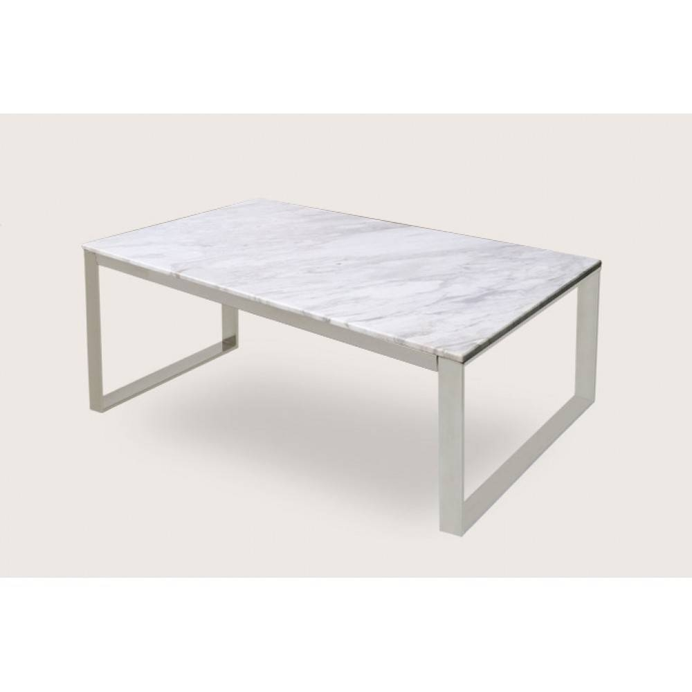 Table. White Marble Top Coffee Table - Home Interior Design for Marble And Glass Coffee Table (Image 14 of 15)