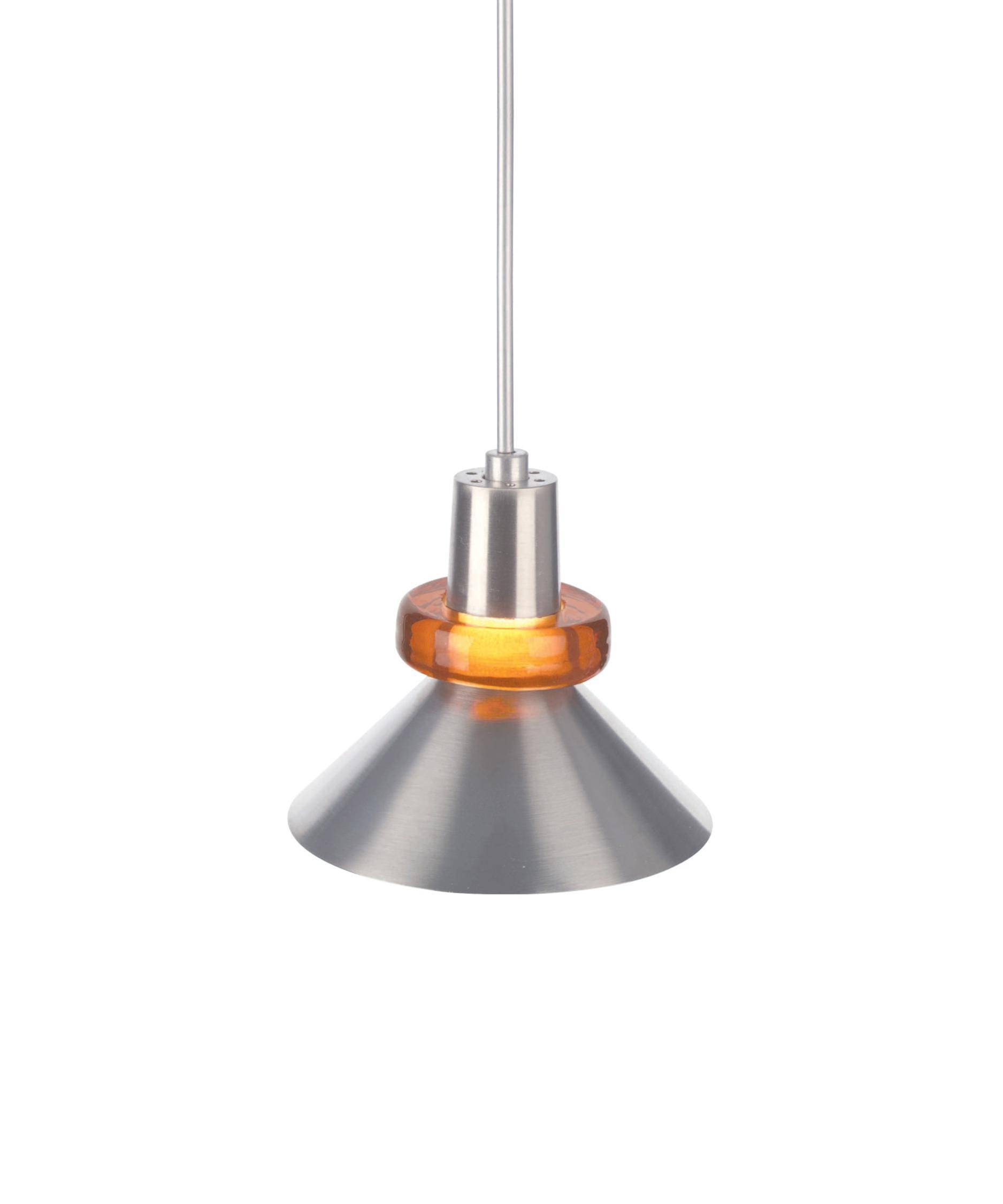 Tech Lighting 700Wks Hanging Wok 3 Inch Wide 1 Light Mini Pendant intended for Brown Glass Pendant Lights (Image 14 of 15)