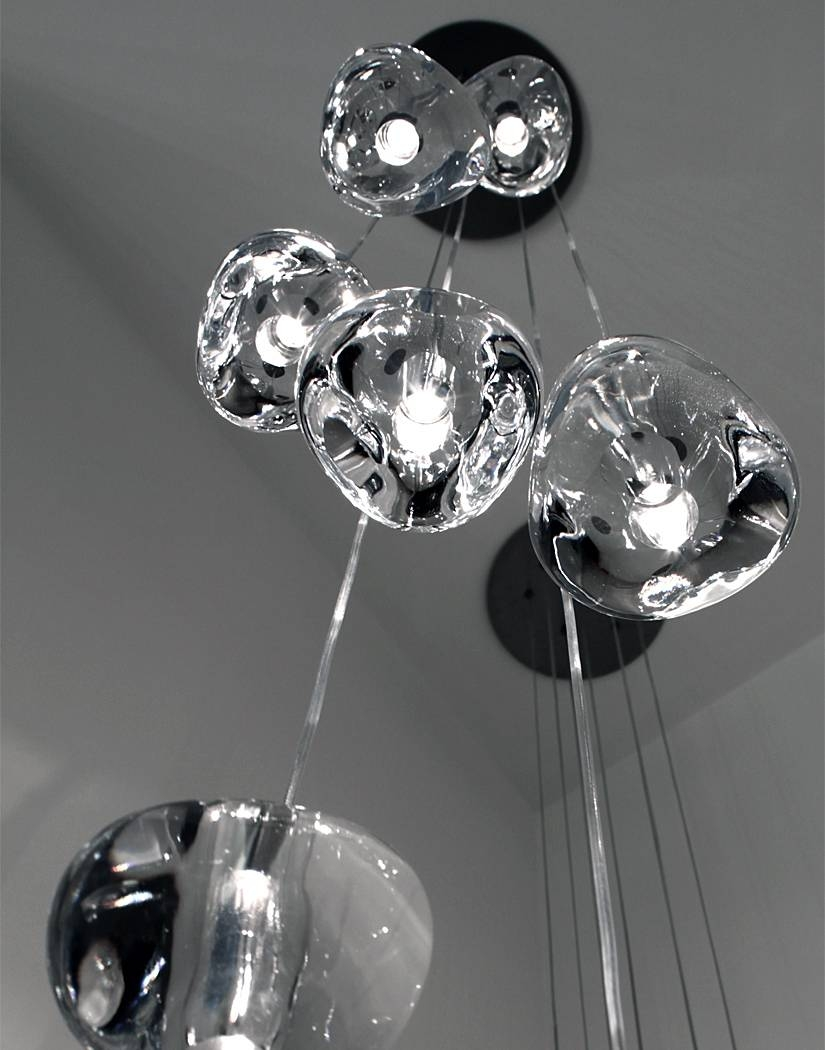 Terzani inside Mizu Pendant Lights (Image 11 of 15)