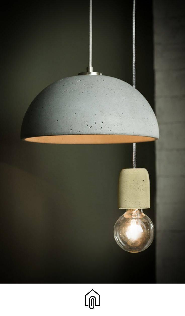 The 25+ Best Concrete Light Ideas On Pinterest | Concrete Lamp for Modern Pendant Lights Sydney (Image 15 of 15)
