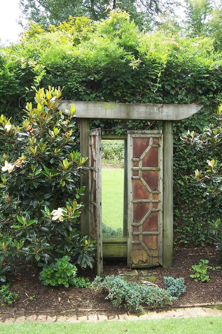 The 25+ Best Garden Mirrors Ideas On Pinterest | Outdoor Mirror within Large Garden Mirrors (Image 15 of 15)