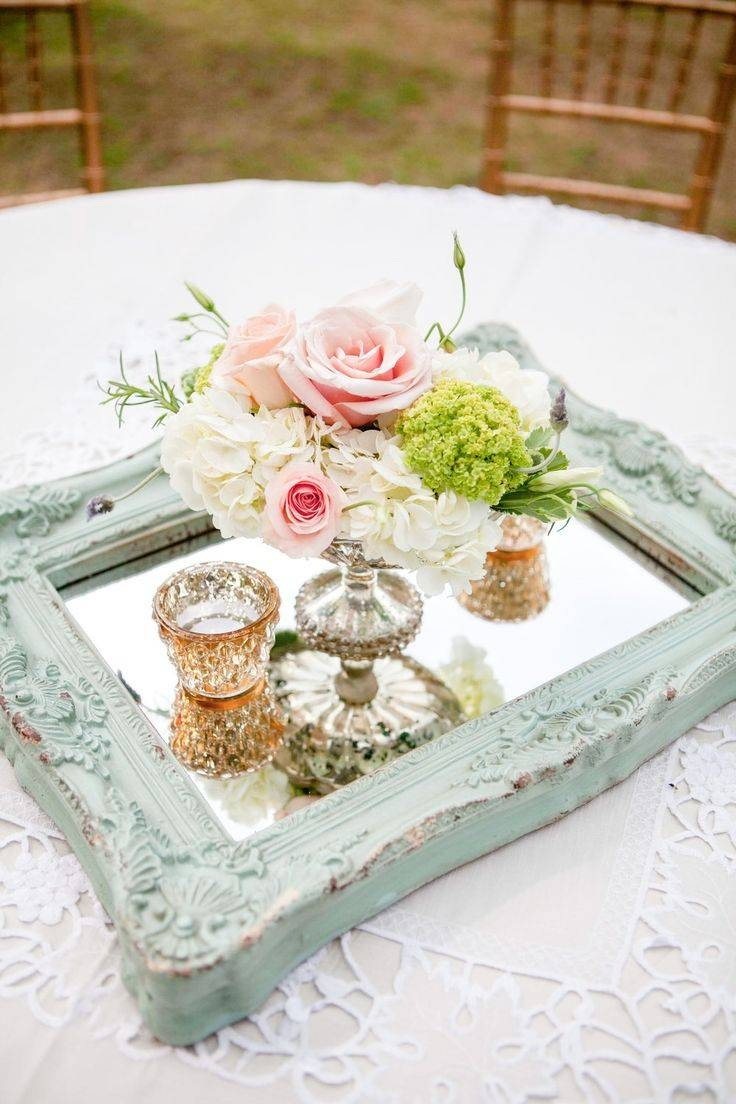 The 25+ Best Shabby Chic Wedding Decor Ideas On Pinterest | Shabby regarding Round Shabby Chic Mirrors (Image 14 of 15)