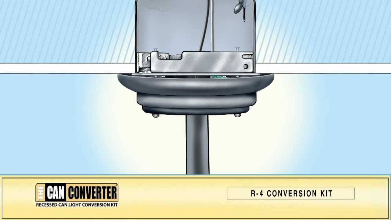 The Can Converter Model R4. How To Install, Pendant Lighting within Can Lights To Pendant Lights (Image 14 of 15)
