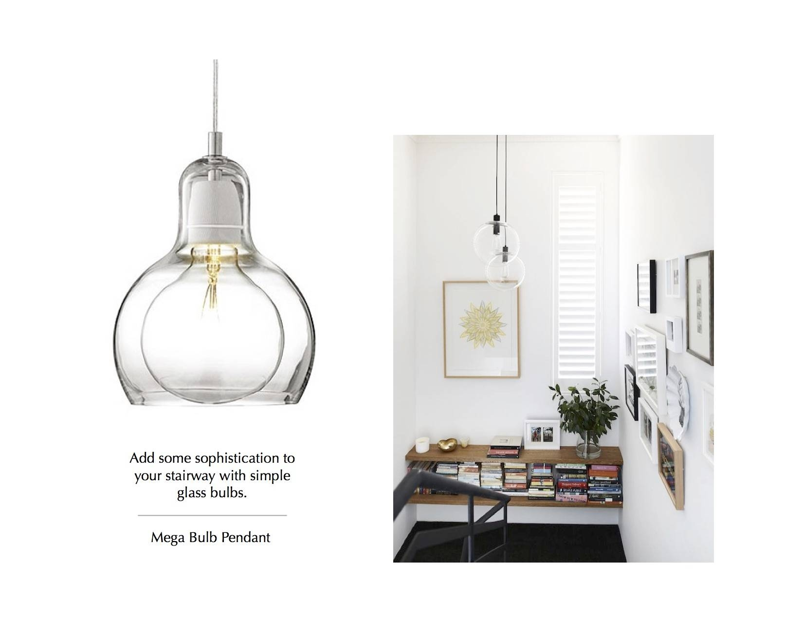 The Importance (And Beauty) Of Great Stairway Lighting   Advice With Regard To Mega Bulb Pendant Lights (View 9 of 15)