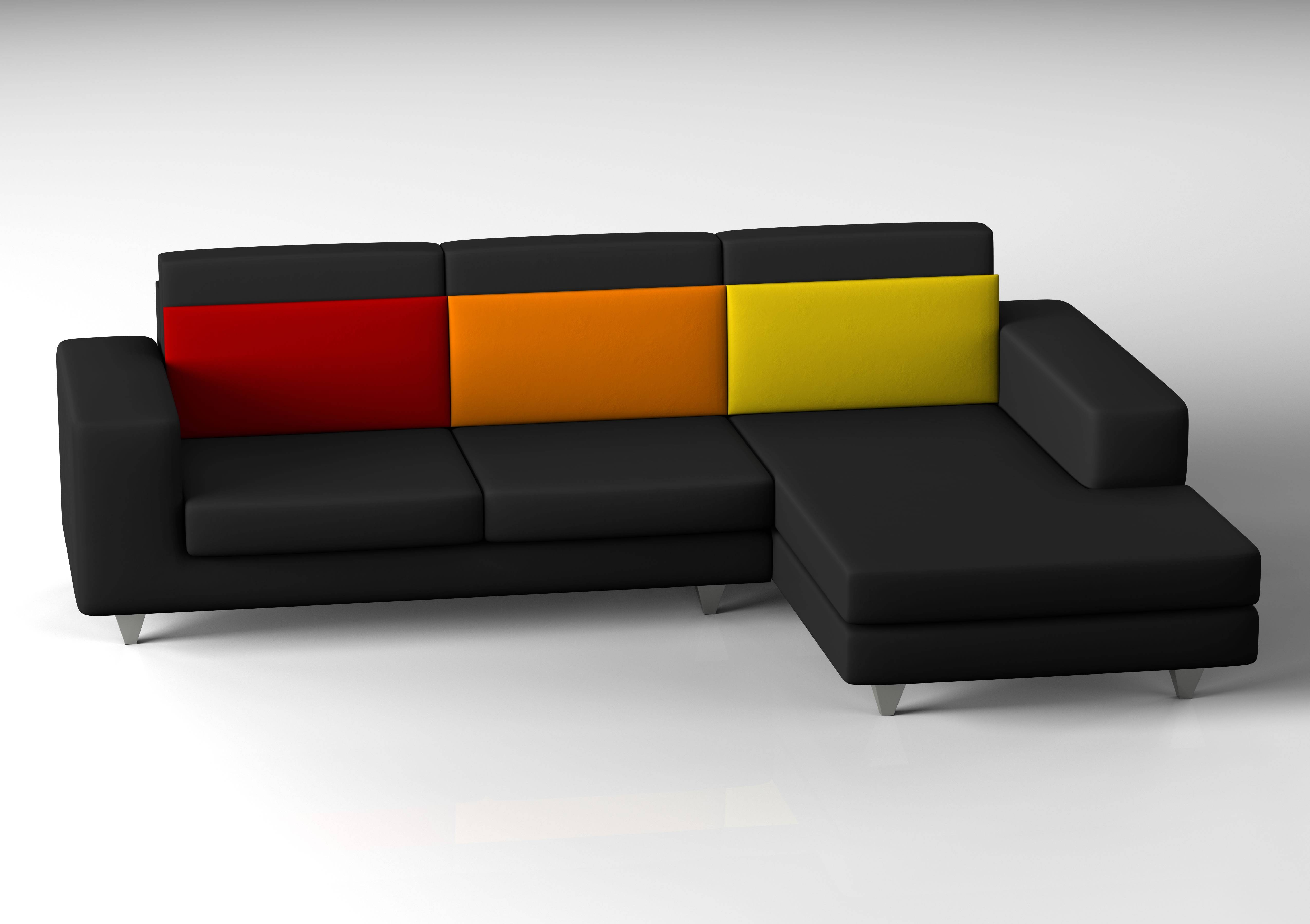 The L Shaped Couch Sofa Contemporary — Liberty Interior : Modern L with Black Modern Couches (Image 14 of 15)