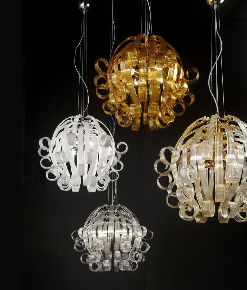 The Modern Medusa Murano Glass Chandelier Intended For Medusa Pendant Lights (View 14 of 15)