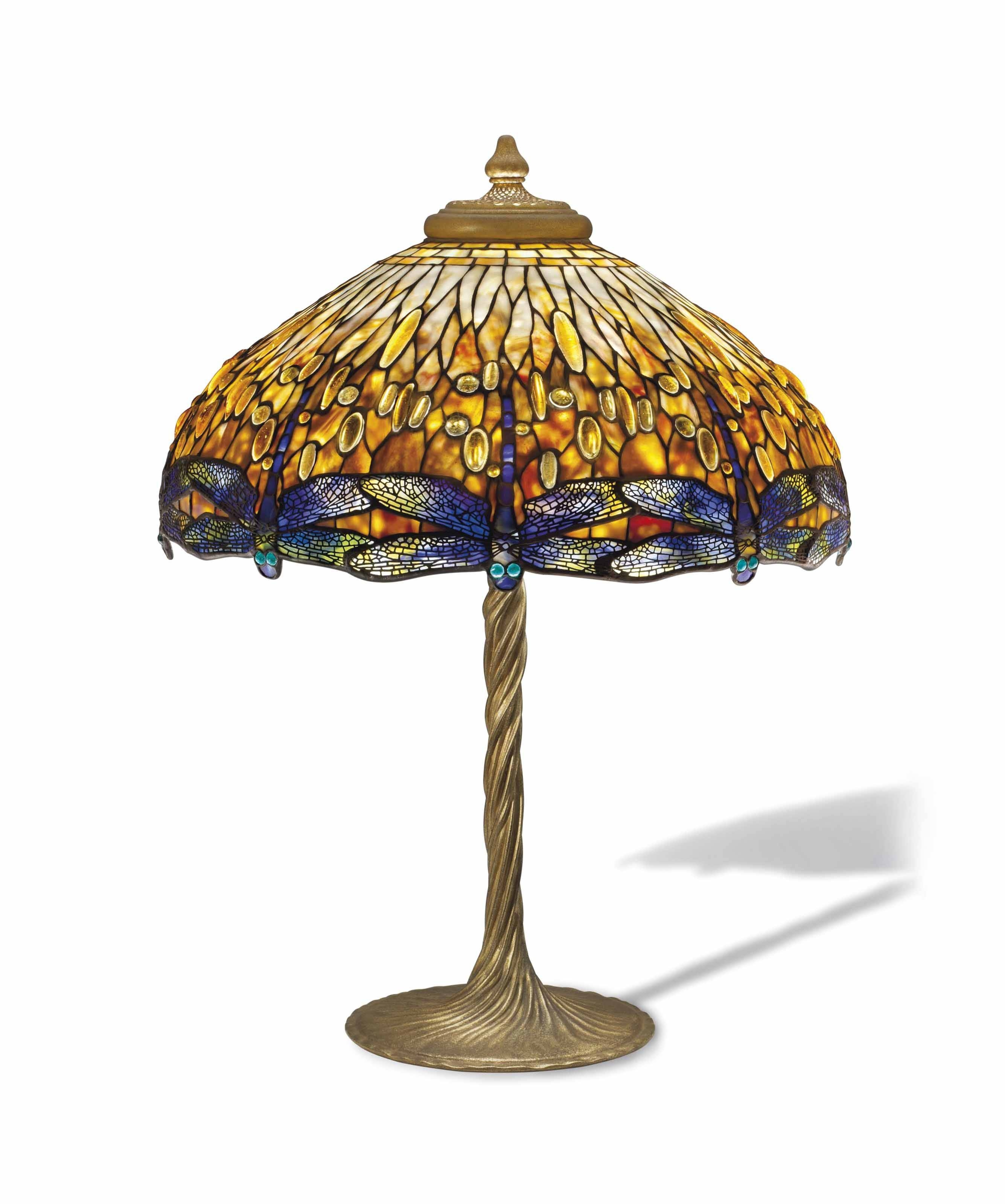 Tiffany Glass Continues To Make Lighting Magical For Coloured Glass Lights Shades (View 14 of 15)