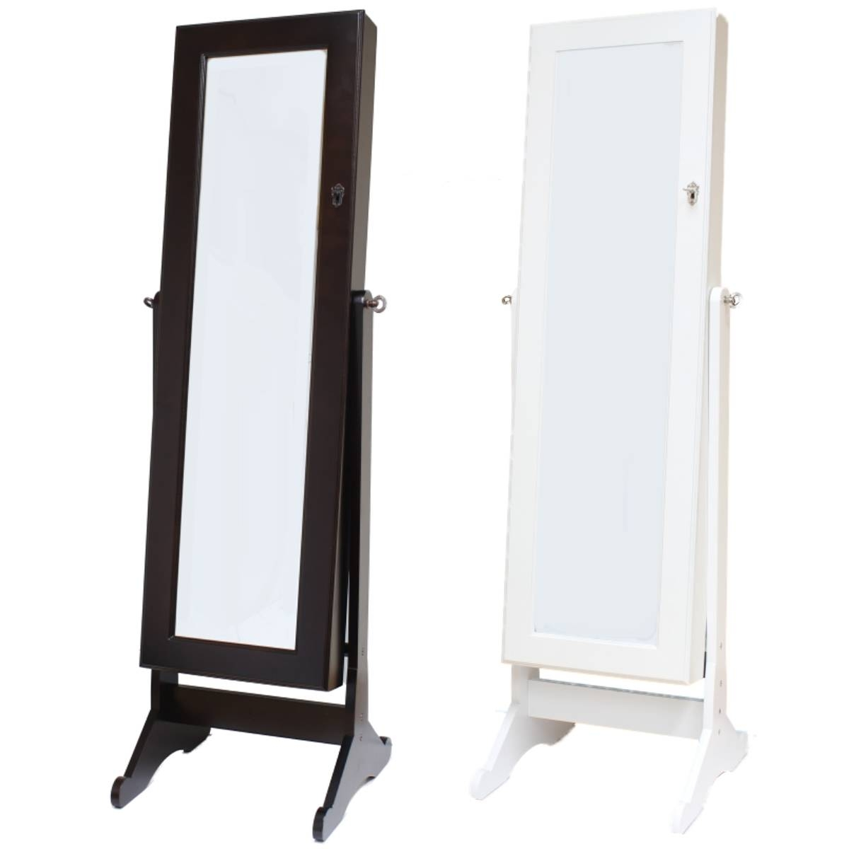 Tips: Walmart Jewelry Armoire Oak | Walmart Jewelry Armoire | Free for Free Standing Long Mirrors (Image 15 of 15)