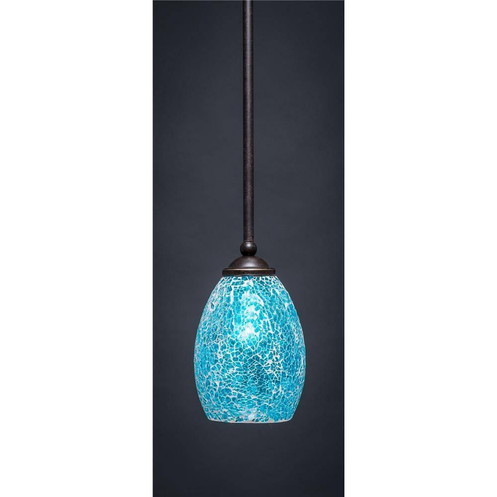 Toltec Lighting Pendant Lighting - Goinglighting in Turquoise Blue Glass Pendant Lights (Image 13 of 15)