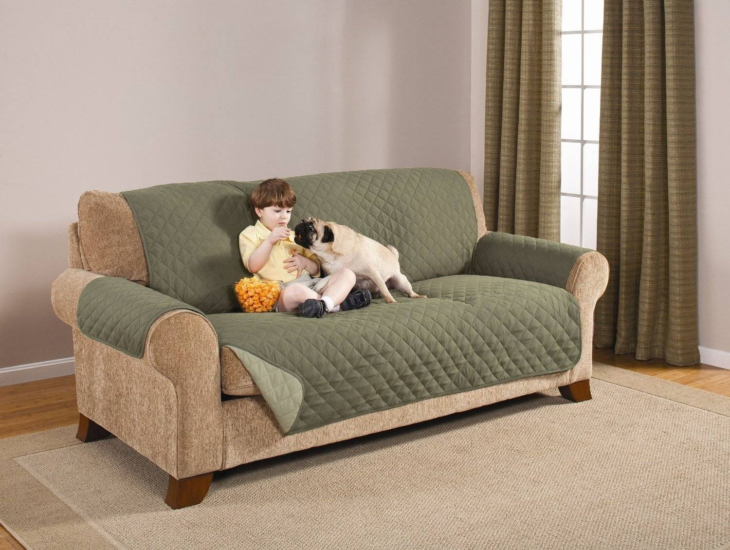 Top 10 Best Sofa Covers For Pets - Pet Sofa Covers To Keep Clean with regard to Dog Sofas and Chairs (Image 12 of 15)