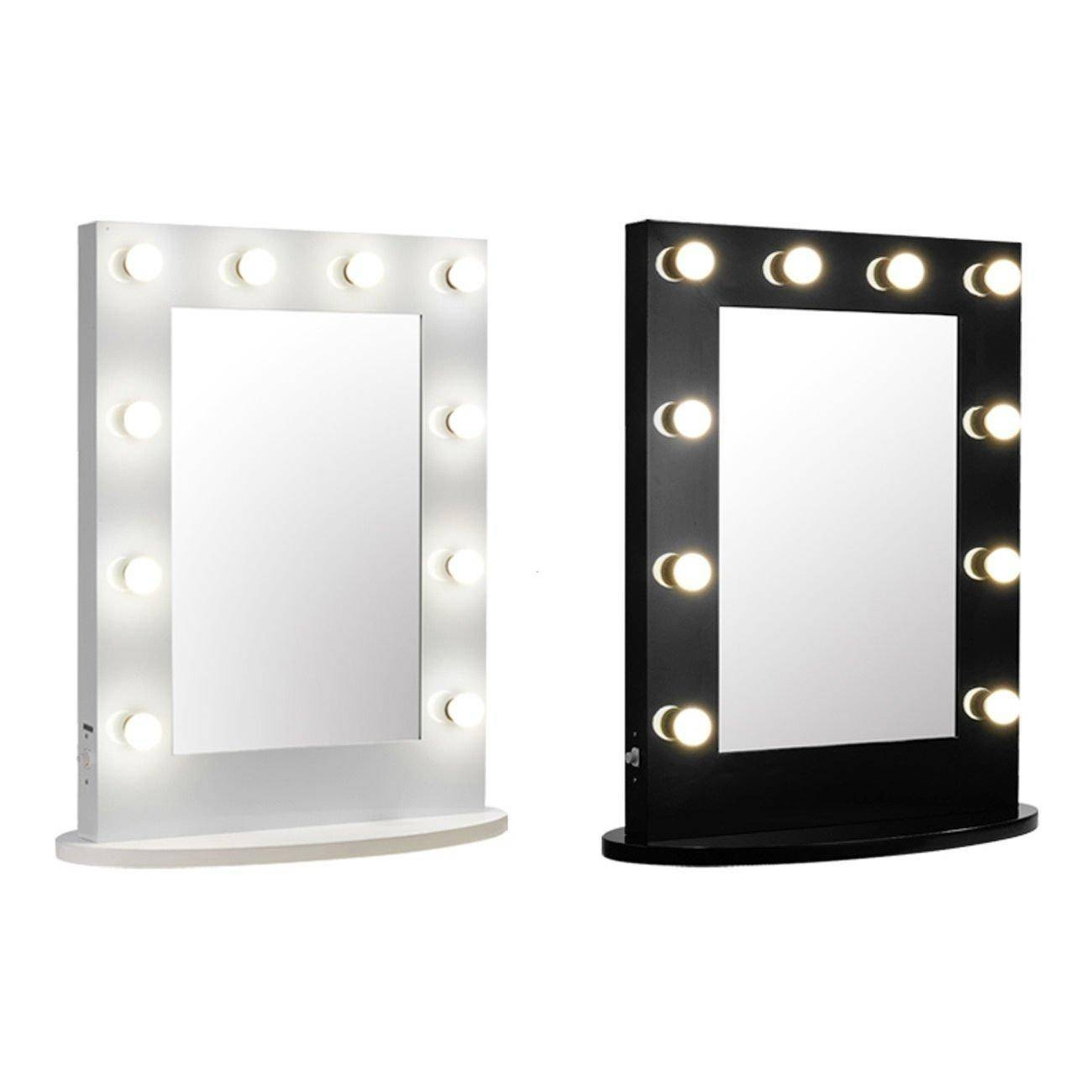 Top 10 Wall Lighted Makeup Mirror 2017 | Warisan Lighting for Wall Light Mirrors (Image 9 of 15)