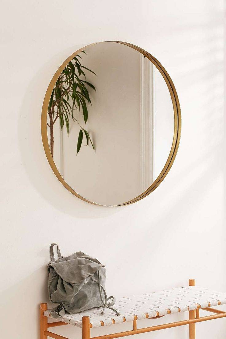 Top 25+ Best Circle Mirrors Ideas On Pinterest | Large Hallway With Large Round Wooden Mirrors (View 14 of 15)