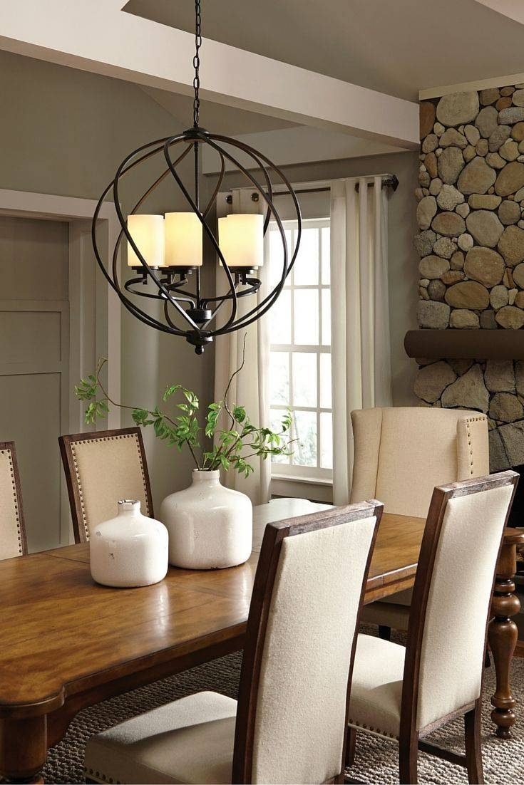 Top 25+ Best Dining Room Lighting Ideas On Pinterest   Dining Room Within Wrought Iron Kitchen Lights Fixtures (View 9 of 15)