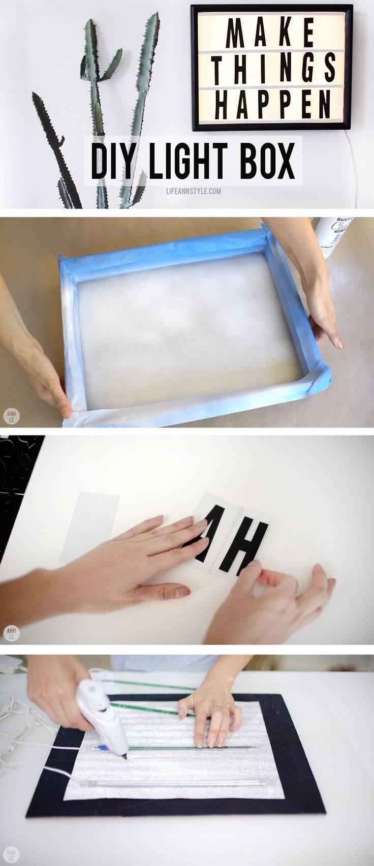 Top 25+ Best Diy Light Box Ideas On Pinterest | Photo Light Box inside Lights In The Box Lighting (Image 12 of 12)